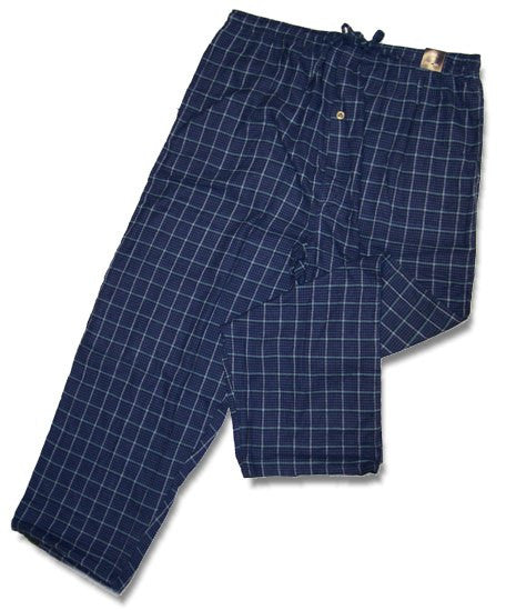 Men's Plaid Flannel Lounge Pants-1