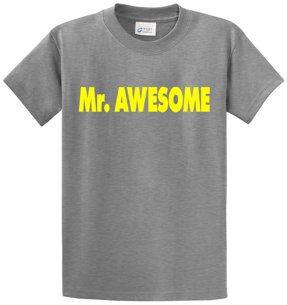 Mr Awesome Printed Tee Shirt-1
