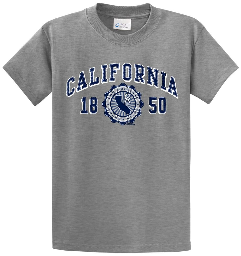 State California Republic Printed Tee Shirt-1