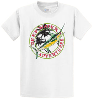 Deep Water Adventures Printed Tee Shirt