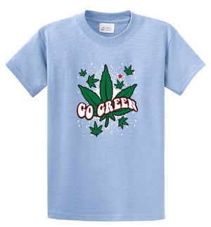 Go Green Printed Tee Shirt