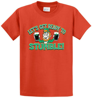 Lets Get Ready To Stumble Printed Tee Shirt