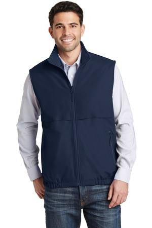 Port Authority Reversible Nylon And Fleece Vest-1