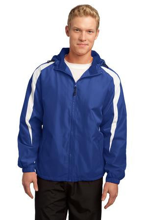Sport-Tek Fleece-Lined Colorblock Jacket-1