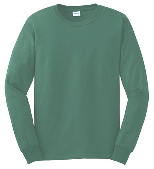 100% Cotton Long Sleeve Tee Closeout-21