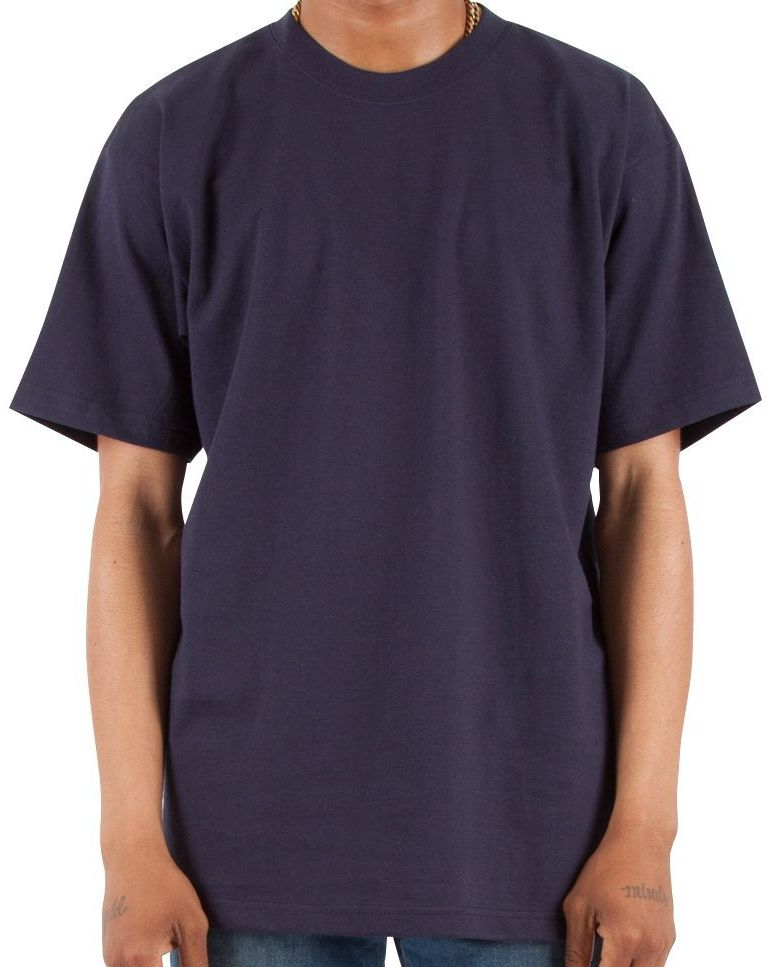 Max Heavyweight Short Sleeve Big And Tall Tee Shirt-5
