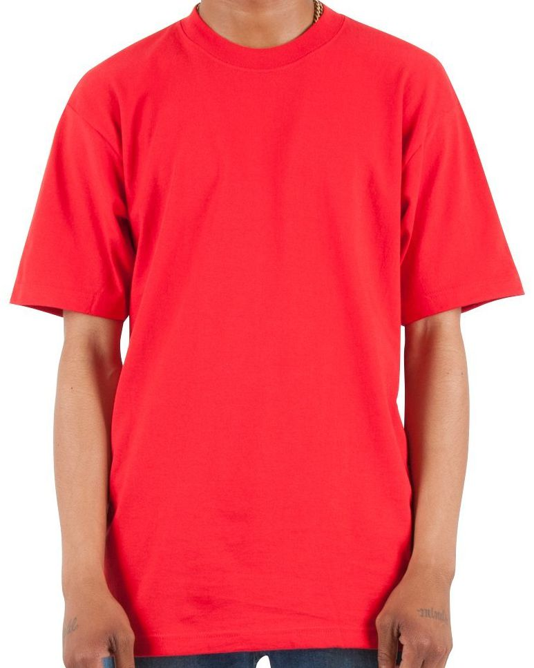 Max Heavyweight Short Sleeve Big And Tall Tee Shirt-4