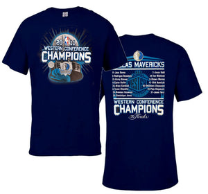 NBA DALLAS MAVERICKS 2011 Big Man Tee Shirt Closeout