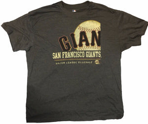 Mlb Giants Baseball Big Man Tee Shirt Closeout