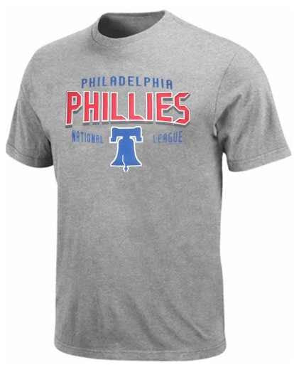 Majestic Philadelphia Phillies Big Man Tee Shirt Closeout