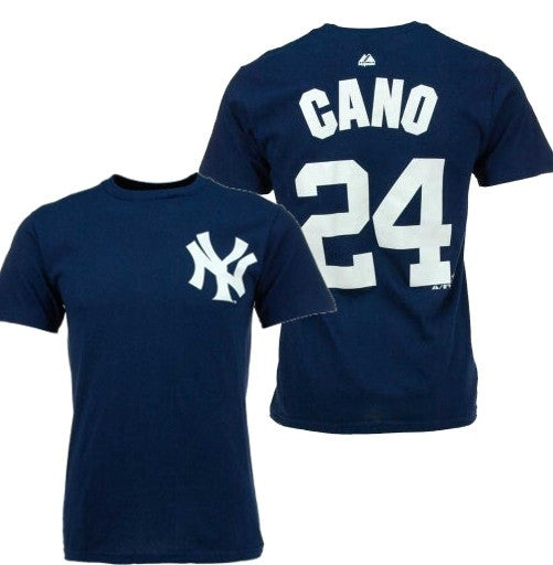 "Majestic Yankees ""Robinson Cano"" Big Man Tee Shirt Closeout"