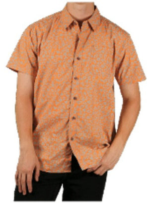 Big Men's S/S Printed Woven Shirt Closeout
