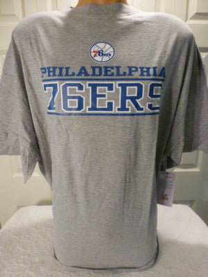 Majestic Philadelphia 76ers Sixers Big Man Tee Shirt Closeout