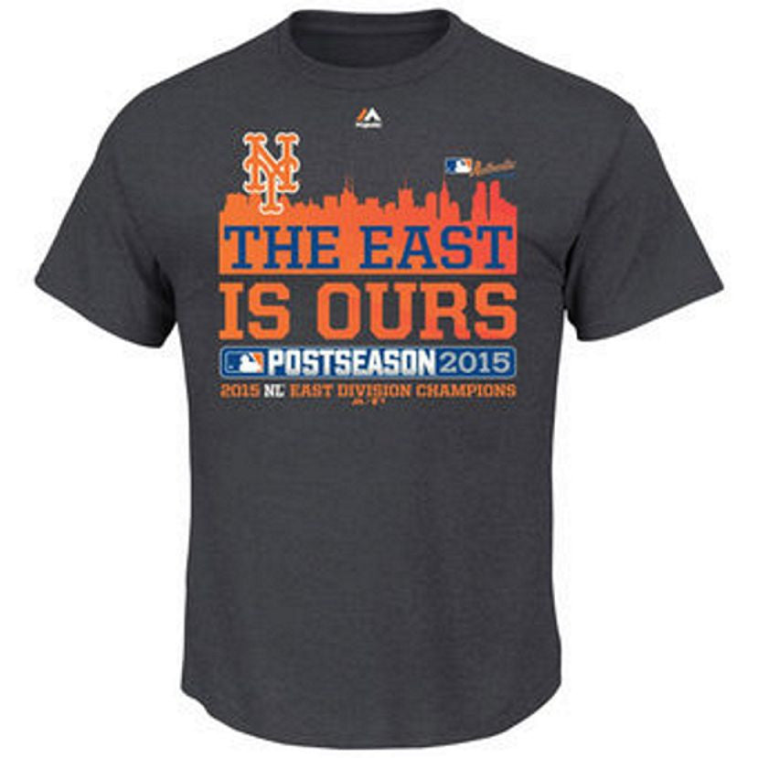 Majestic Ny The East Is Ours Big Man Tee Shirt Closeout-1