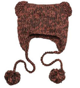 District Brand Hand Knit Cat-Eared Beanie