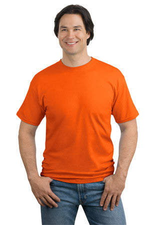 Port & Company Heavyweight Cotton Tall Crew Tee Shirt-1