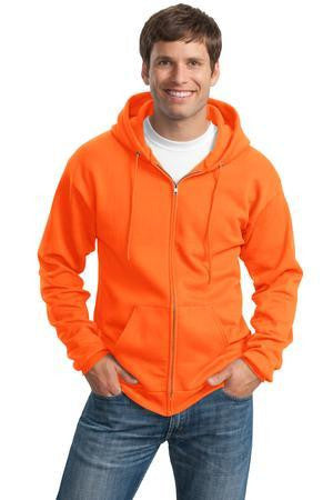 Port & Company Tall Ultimate Full-Zip Hooded Sweatshirt-1