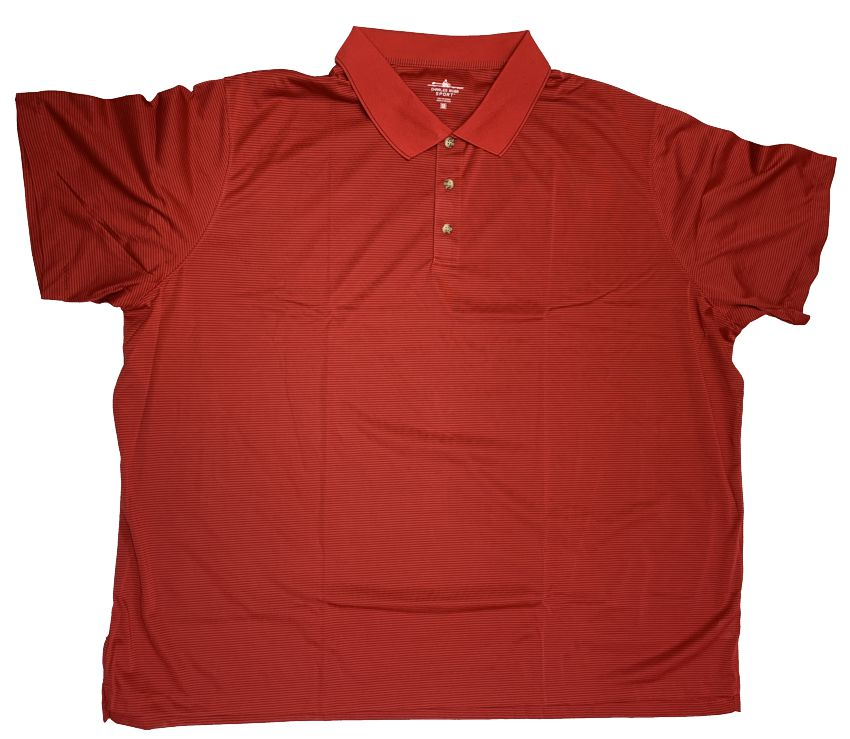Charles River Sport Polyester Micro Stripe Polo Closeuot-3
