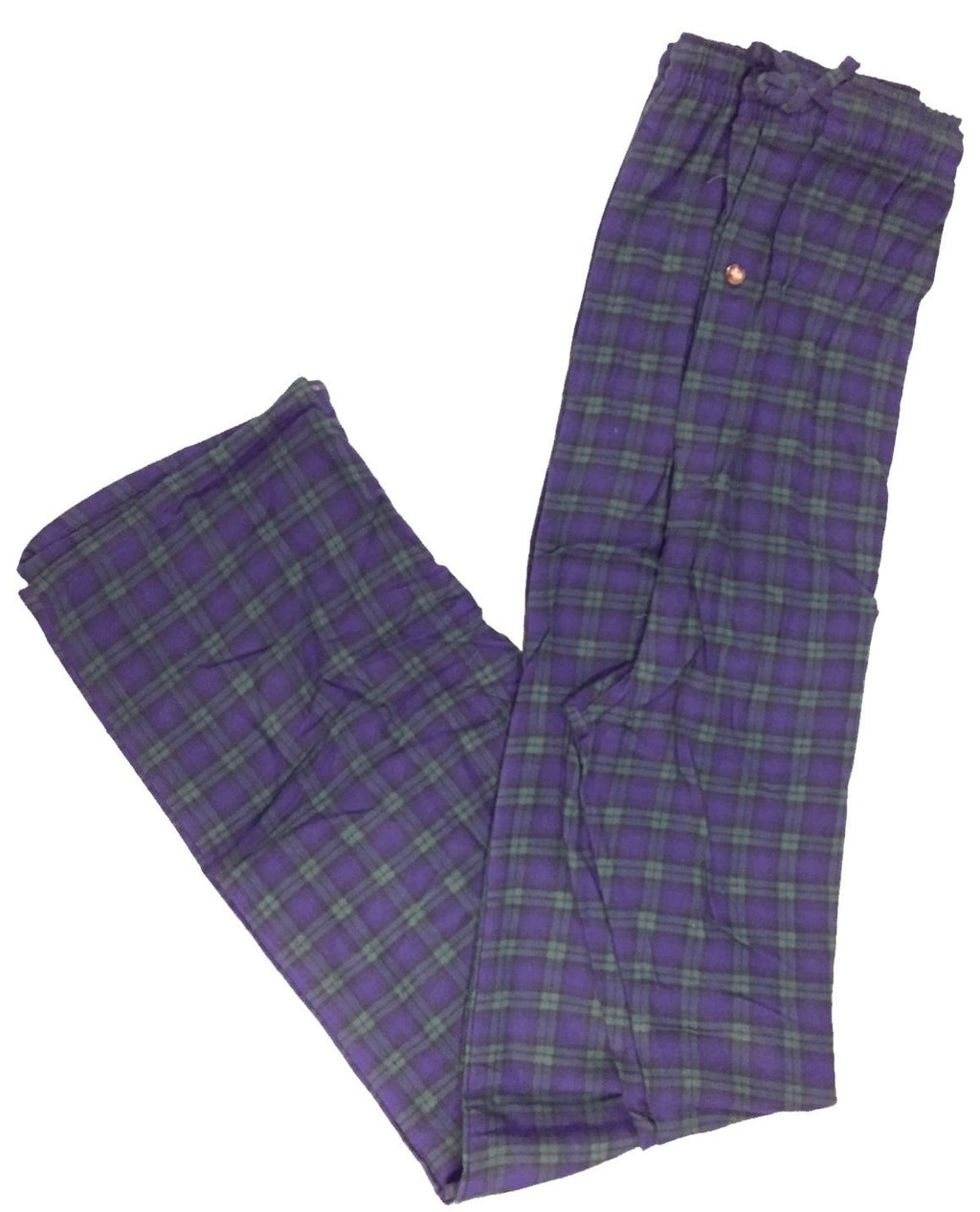 Men's Plaid Flannel Lounge Pants-16