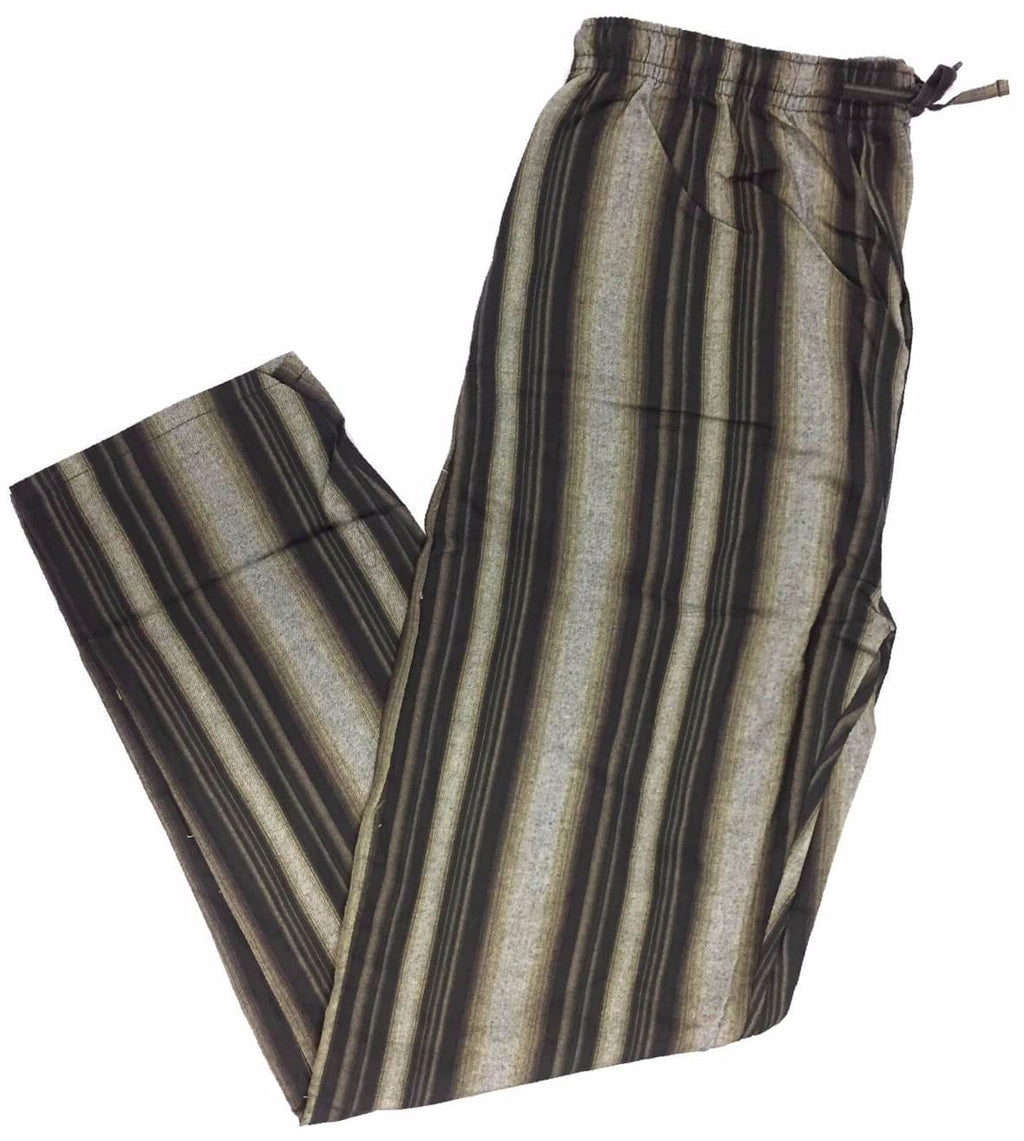 Men's Plaid Flannel Lounge Pants-13