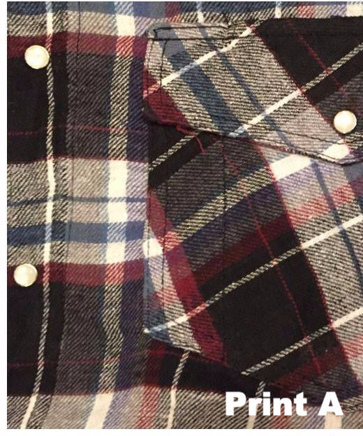 Falcon Bay Men's Long Sleeve Lined Flannel Plaid Shirt