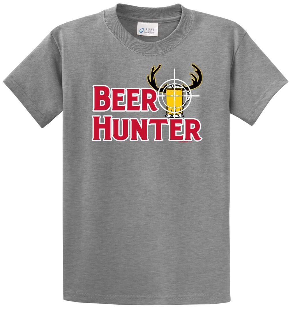 Beer Hunter Printed Tee Shirt-1