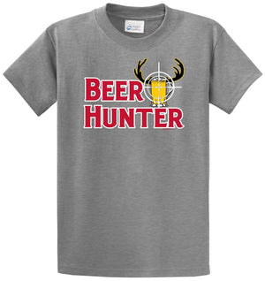 Beer Hunter Printed Tee Shirt