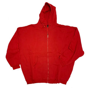Baru Sports Heavyweight Zipper Hooded Sweatshirt Closeout