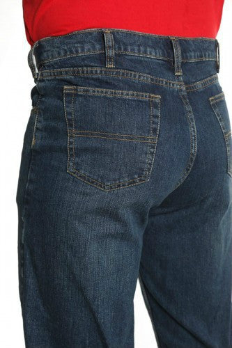 Grand River Men's Dark Blue Stretch Jean-3
