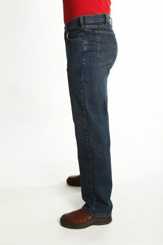 Grand River Men's Dark Blue Stretch Jean-2