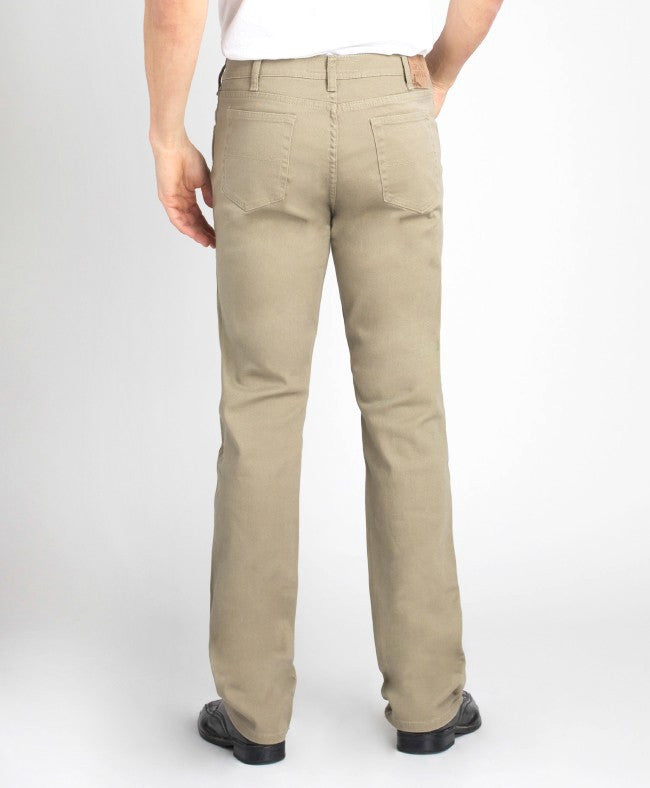 Grand River Men's Khaki Stretch Jean-2