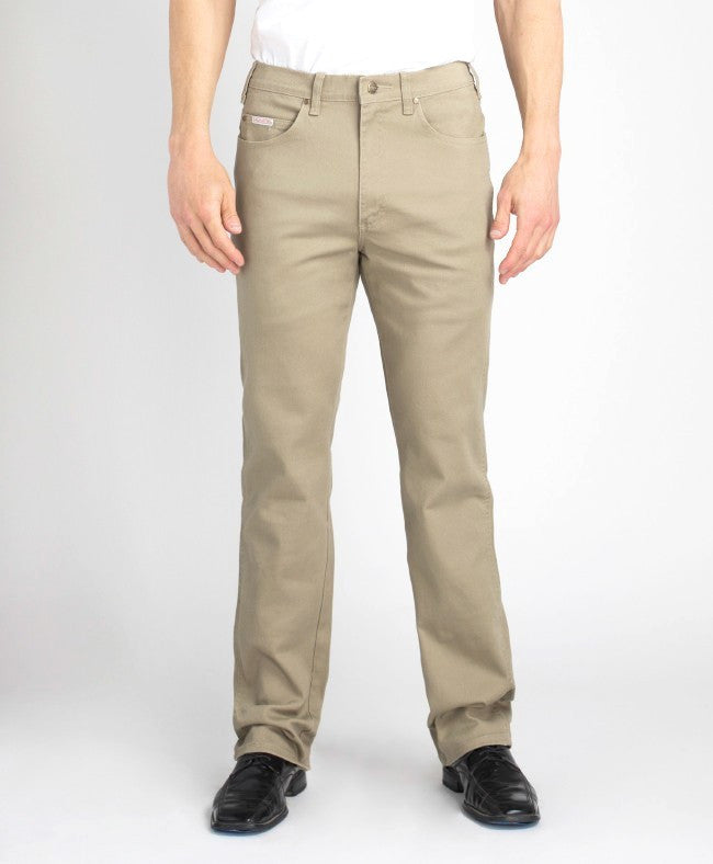 Grand River Men's Khaki Stretch Jean