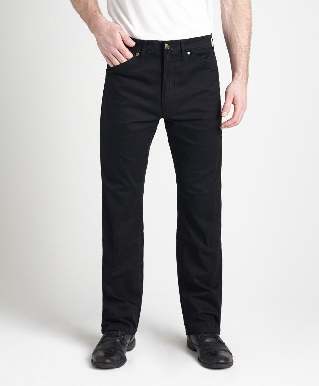 Grand River Lightweight Black Stretch Twill Pant-1