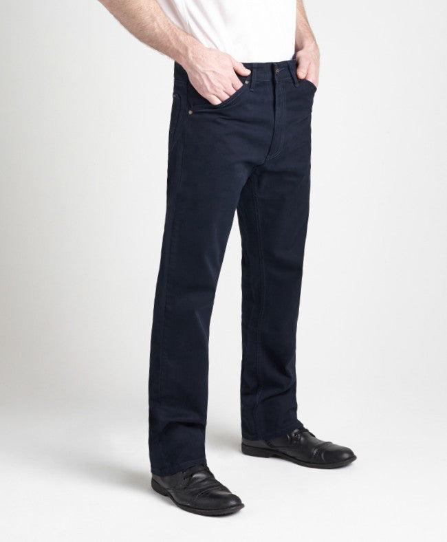 Grand River Lightweight Navy Stretch Twill Pant-2