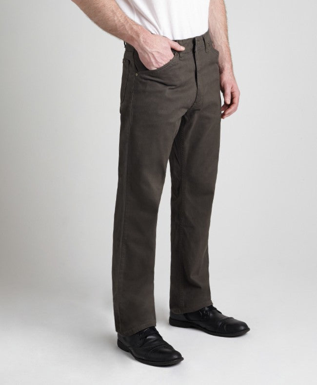 Grand River Lightweight Olive Stretch Twill Pant-2