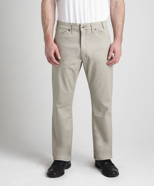 Grand River Lightweight Stone Stretch Twill Pant
