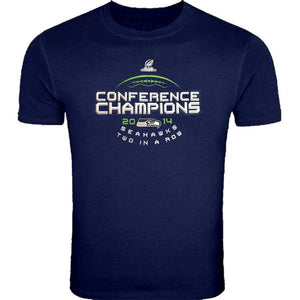 Majestic SEAHAWKS 2014 NFC Champs Big Man Tee Shirt Closeout