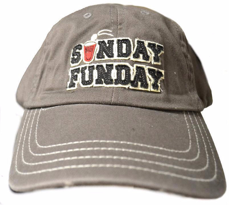 Sunday Funday Embroidered Cap Closeout-2