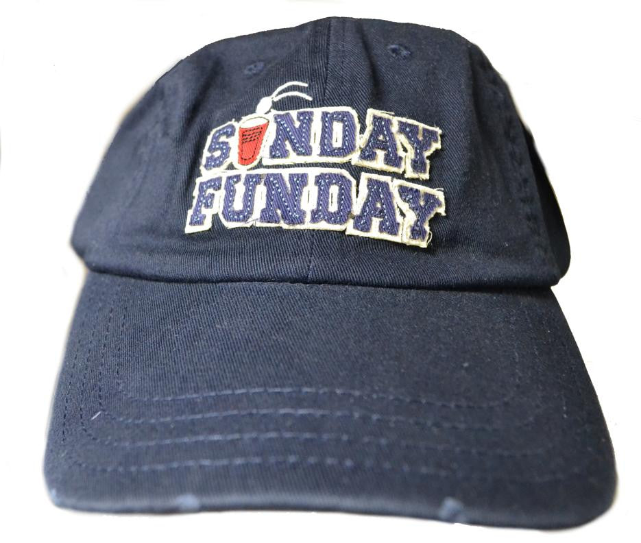 Sunday Funday Embroidered Cap Closeout