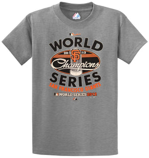 Mlb 2012 Giants World Series Champions Tee Shirt