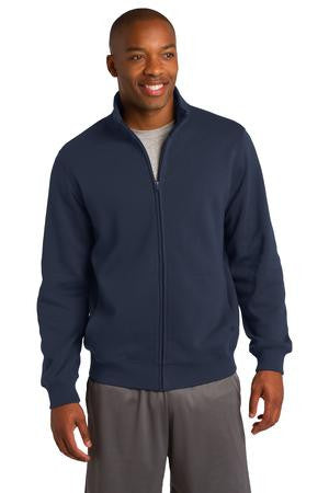 Sport-Tek Zip Sweat Jacket With Collar-1
