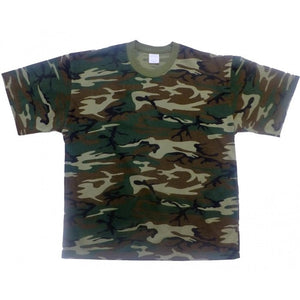 Sovereign USA 100% Cotton Woodland Camo Tee