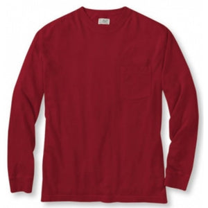 Sovereign USA 100% Cotton Long Sleeve Pocket Tee Closeout