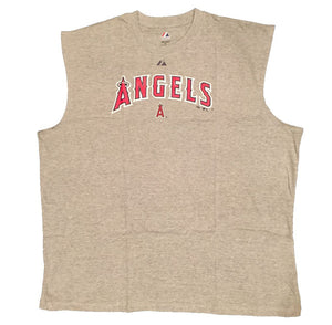 Majestic Los Angeles Angels Big Man Muscle Tee Shirt Closeout