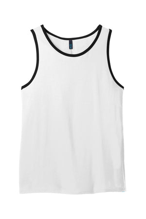 100% Cotton Ringer Tank Top Closeout