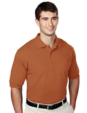 Tri-Mountain Men's 60/40 Pique Polo Shirt W/Pocket