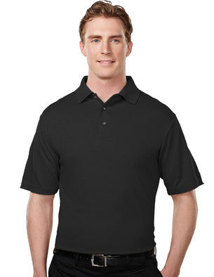 Tri-Mountain Men's 100% Poly Micro Mesh Polo Shirt-1