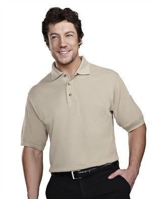 Tri-Mountain Men's 7oz 60/40 Stain Resistant Pique Polo Shirt-1