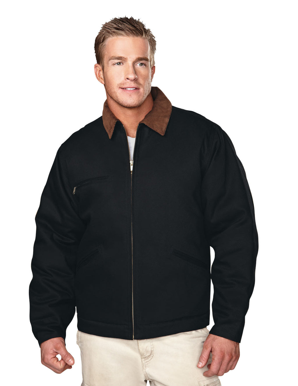 Tri-Mountain Quilt Lined Canvas Jacket-1