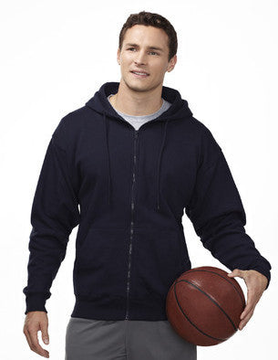 Tri-Mountain 10oz Sueded Finish Zip Hoody Sweatshirt-1